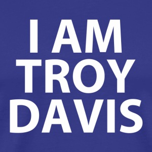 i am troy davis (RIP...) T-Shirts - Men's Premium T-Shirt