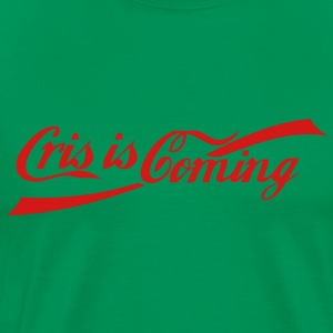 Crisis Coming T-Shirts - Men's Premium T-Shirt