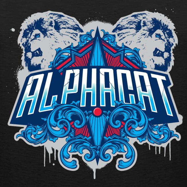 Alphacat Black Tank