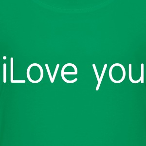 i love you T-shirts Enfant - T-shirt premium pour ados