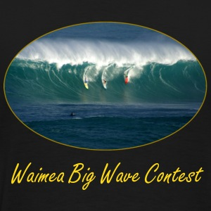 Waimea Big Wave Contest - Men's Premium T-Shirt