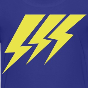 THREE STRIKE LIGHTNING lightning strikes Kids' Shirts - Kids' Premium T-Shirt