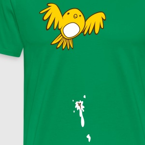 That Pretty Bird Pooped on My Shirt! T-Shirts - Men's Premium T-Shirt