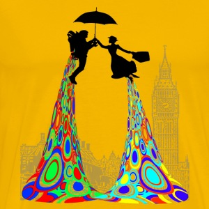 JETPACK AND POPPINS - Men's Premium T-Shirt