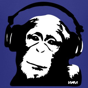DJ Monkey (use Digital Direct) Kids' Shirts - Kids' Premium T-Shirt
