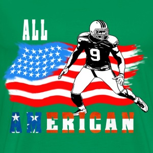 All American Football player 4 T-Shirts - Men's Premium T-Shirt
