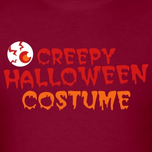 creepy halloween costume with Eyeball! T-Shirts - Men's T-Shirt