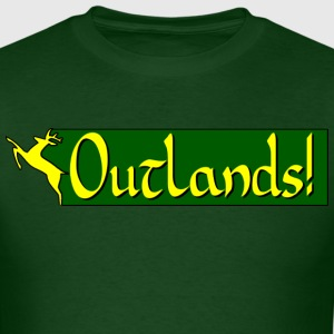 outlands_banner_1_western T-Shirts - Men's T-Shirt