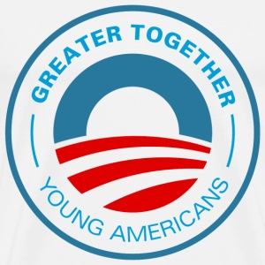 Young Americans for Obama 2012 - Men's Premium T-Shirt