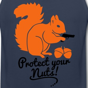 protect your nuts T-Shirts - Men's Premium Tank