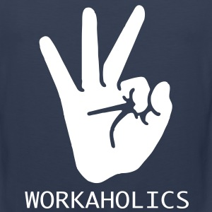 workaholics T-Shirts - Men's Premium Tank