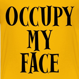 Occupy My Face Protests Kids' Shirts - Kids' Premium T-Shirt