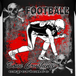 FootBall Bone Crushing experience GreyBlack Toddler Shirts - Toddler Premium T-Shirt