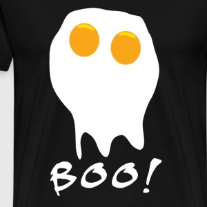 funny egg ghost - Men's Premium T-Shirt