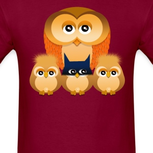 OWL FAMILY - Men's T-Shirt