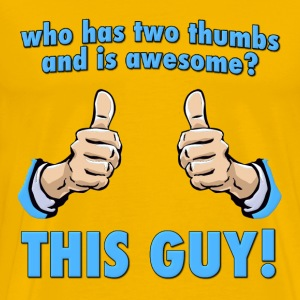 Who is Awesome?  This Guy! T-Shirts - Men's Premium T-Shirt