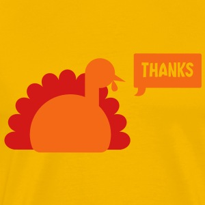 TURKEY THANKS  T-Shirts - Men's Premium T-Shirt
