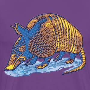 Armadillo Big Dot - Men's Premium T-Shirt