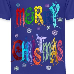A Very Colorful Merry Christmas - Toddler Premium T-Shirt