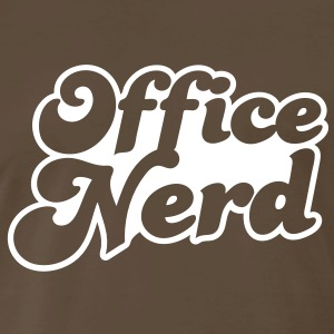 office nerd T-Shirts - Men's Premium T-Shirt