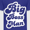 big boss man! Kids' Shirts - Kids' Premium T-Shirt