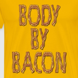 Body By Bacon Fat T-Shirts - Men's Premium T-Shirt