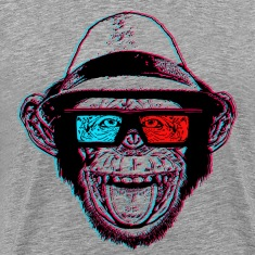 "HIPSTER CHIMP - AKA ""THE CHIMPSTER"""