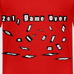 game over 2011 happy new year 2012 christmas Toddler Shirts - Toddler Premium T-Shirt