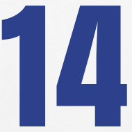 Design ~ Howard 14 Blue and White (Number On Back Also)