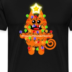 CHRISTMASKAT - Men's Premium T-Shirt