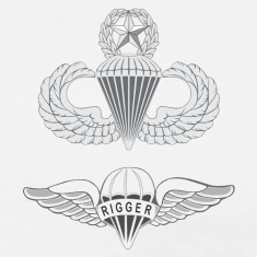 airborne master rigger T-Shirts