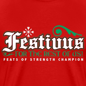 FESTIVUS Christmas Seinfeld industries kramerica griswold vandelay T-shirt 2XL - Men's Premium T-Shirt