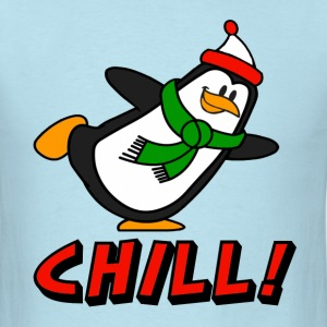 Penguin Chill! Chilly Willy T-Shirts - Men's T-Shirt