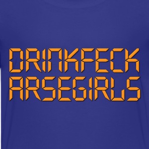 Drinkfeck Arsegirls The IT Crowd Kids' Shirts - Kids' Premium T-Shirt