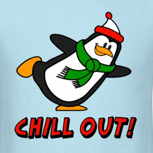 Chill Out Penguin Chilly Willy T-Shirts - Men's T-Shirt