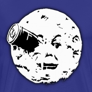 Le Voyage dans le Lune Hugo Man In Moon T-Shirts - Men's Premium T-Shirt