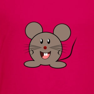 Cute Cartoon Mouse - Kids' Premium T-Shirt