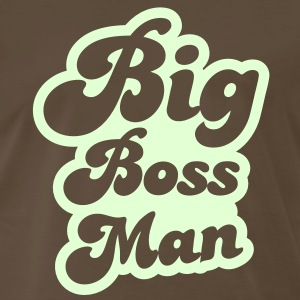 big boss man! T-Shirts - Men's Premium T-Shirt