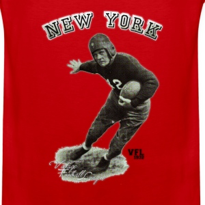 Vintage Football League New York by Chiller  T-Shirts - Men's Premium Tank