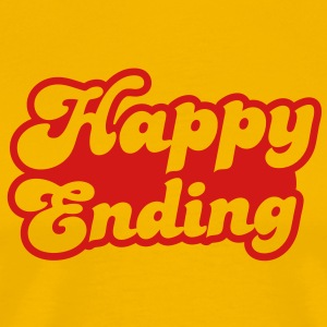 happy ending T-Shirts - Men's Premium T-Shirt