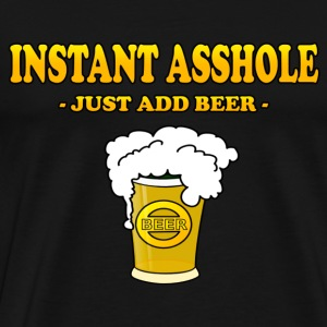 instant asshole - Men's Premium T-Shirt