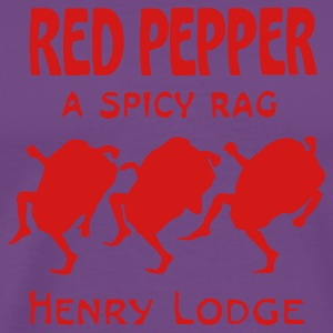 Red Pepper a Spicy Rag T-Shirts - Men's Premium T-Shirt