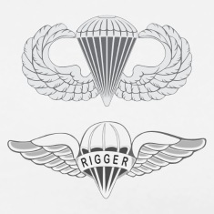 airborne rigger T-Shirts