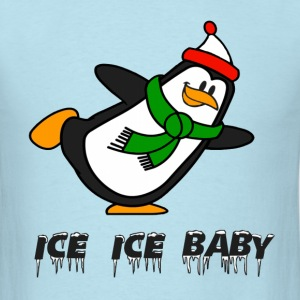 Ice Ice Baby Penguin Chilly Willy T-Shirts - Men's T-Shirt
