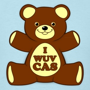 I WUV CAS - Men's T-Shirt