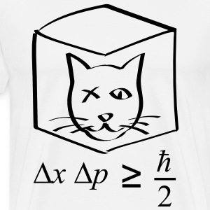 Schrodinger's Cat in the Box T-Shirts - Men's Premium T-Shirt