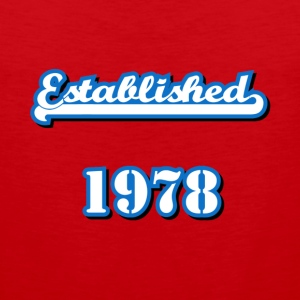 Established 1978 T-Shirts - Men's Premium Tank