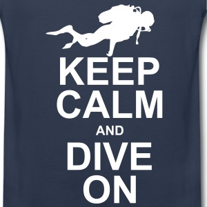 Keep Calm and Dive On (KCDO) T-Shirts - Men's Premium Tank