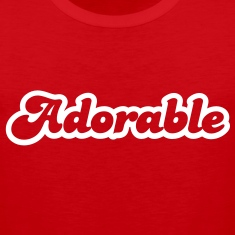 adorable! in cute font T-Shirts