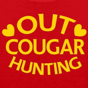 OUT COUGAR HUNTING T-Shirts - Men's Premium Tank